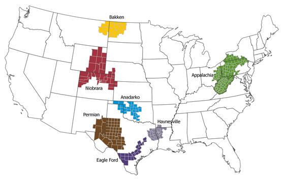 FrackingShaleZones