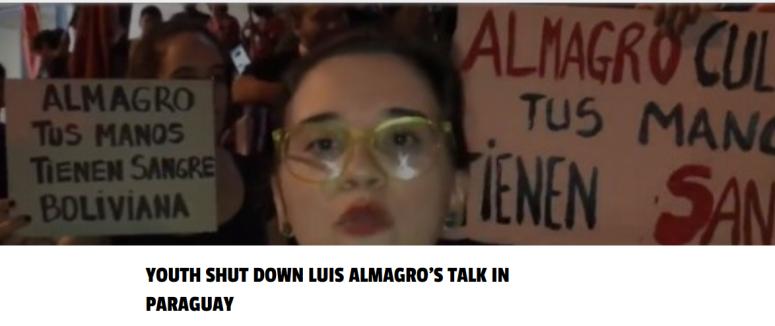 Almagros Talk shut down youth