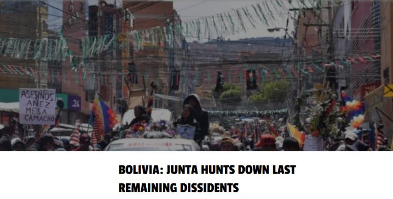 Bolivia-JuntaHuntsDown