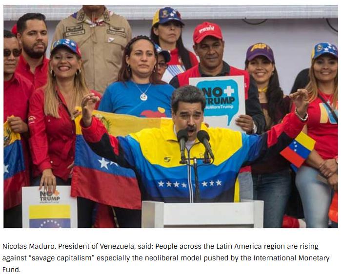 Maduro-AntiNeoliberalismo